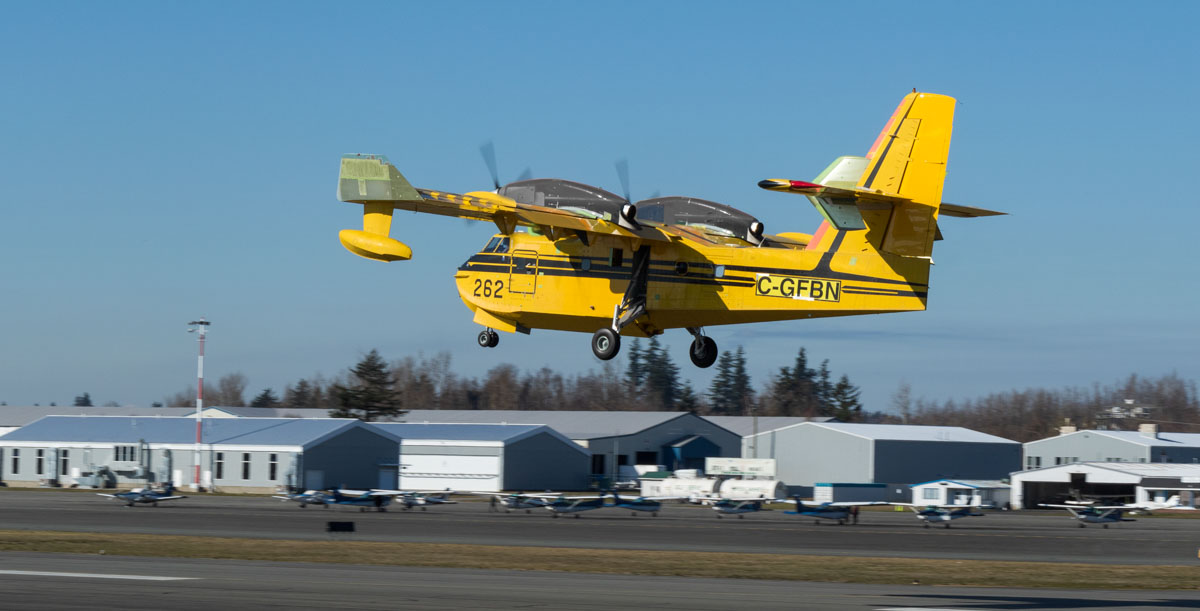 CL-415EAF First Flight