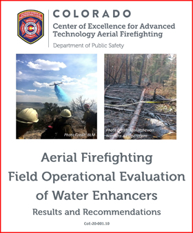 CoE water enhancer study fire