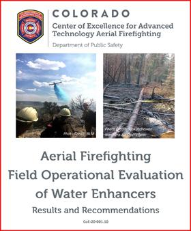 CoE water enhancer study fire