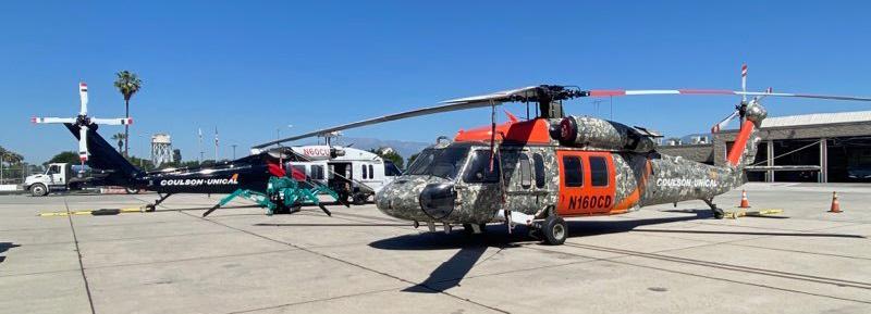 Coulson-Unical helicopters San Bernardino