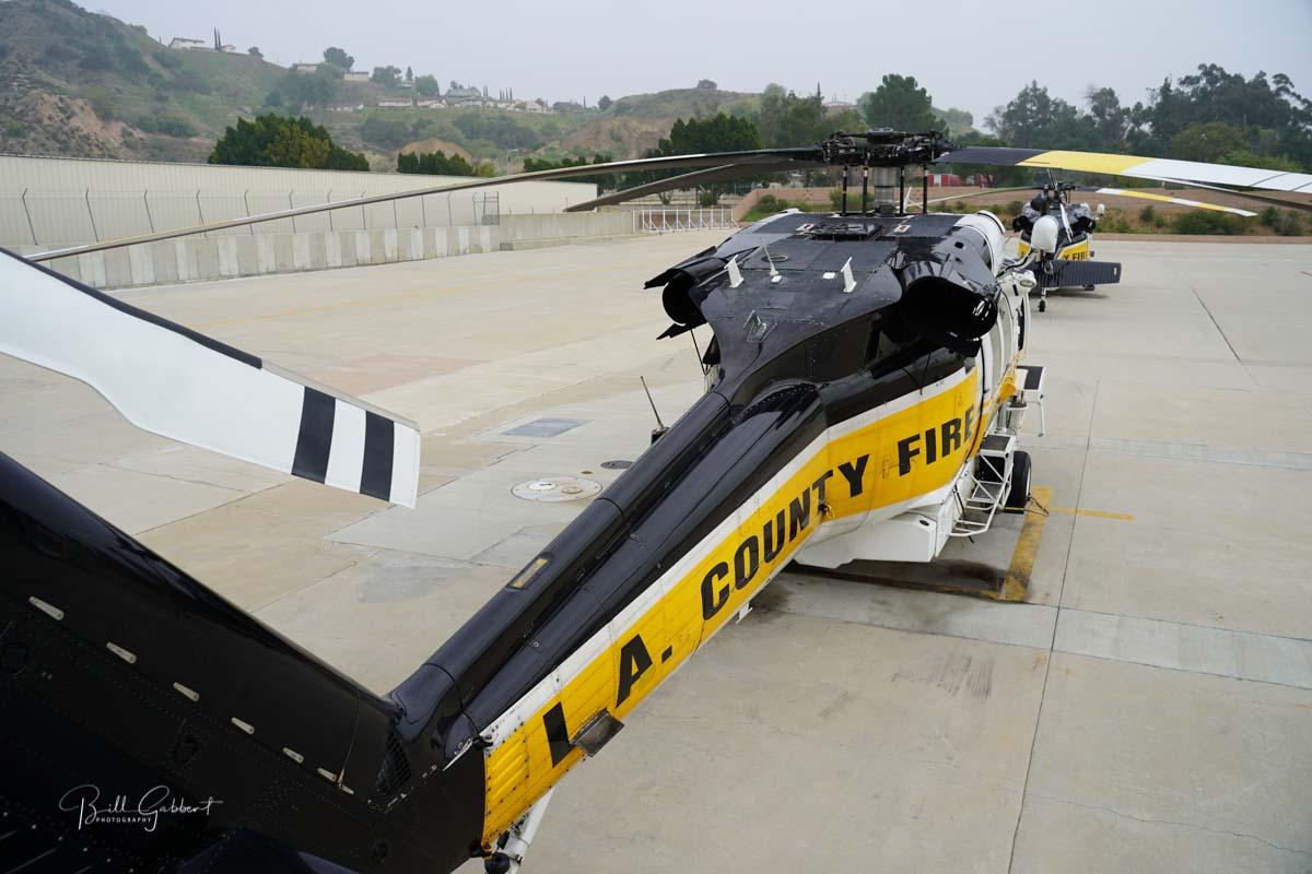 LA County Firehawk helicopters