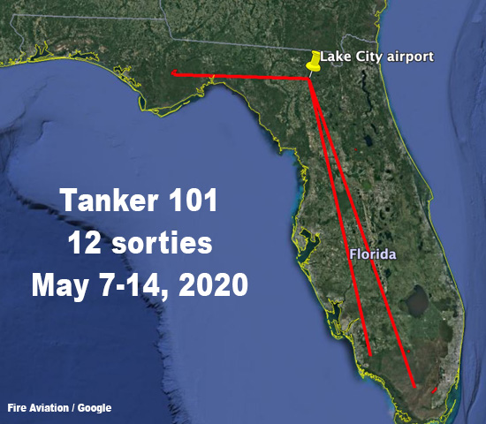 air tanker 101 sorties Florida