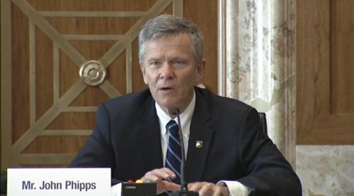 John Phipps, Forest Service