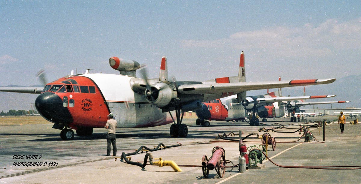 Three C-119s Ryan 1981
