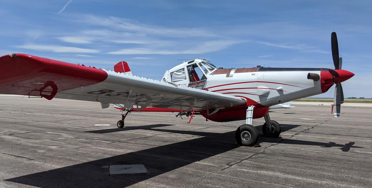 Single Engine Air Tanker contract Wyoming