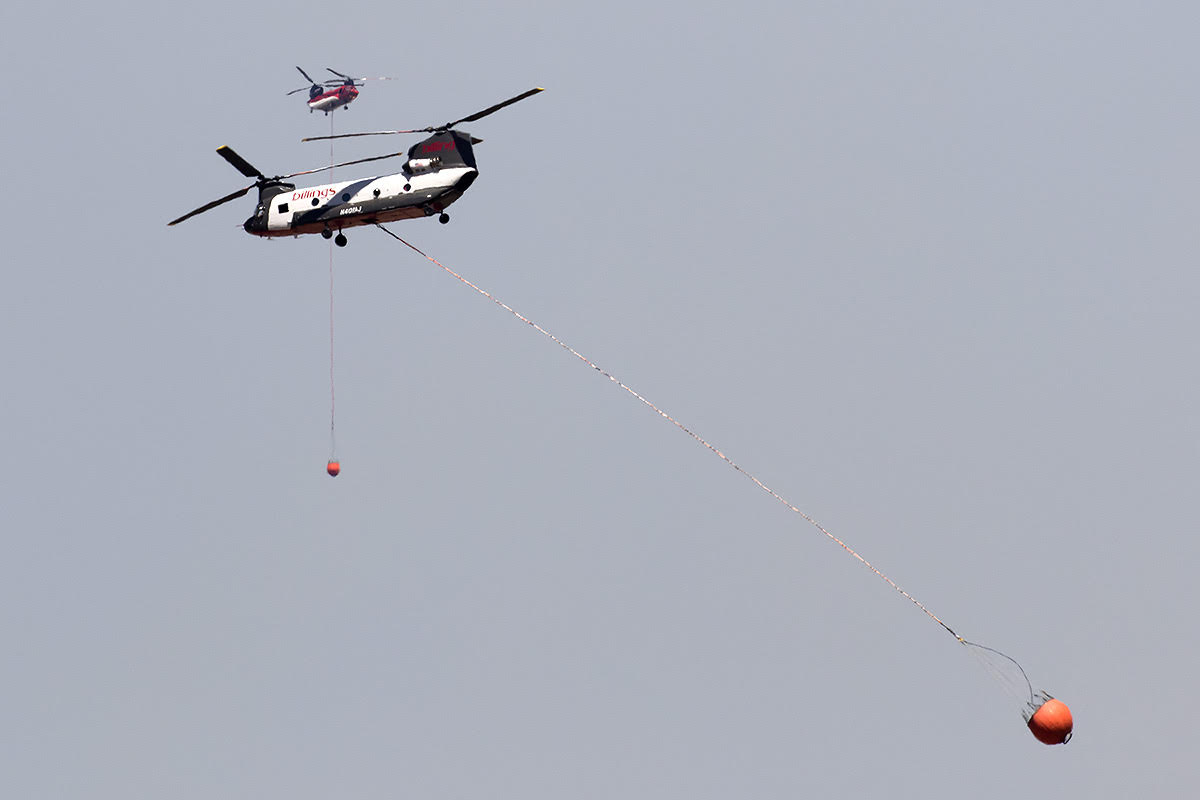 Chinook Bighorn Fire