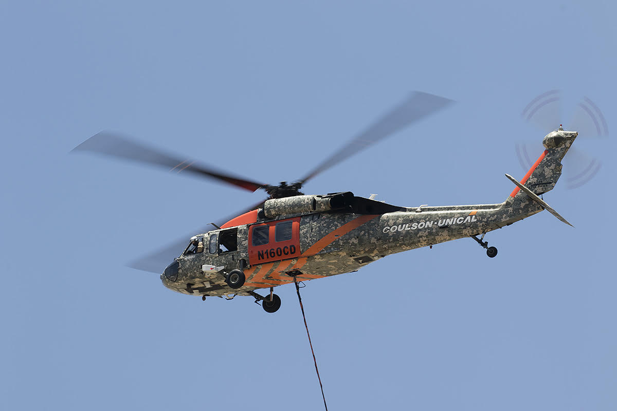 Sikorsky UH-60A Bighorn Fire