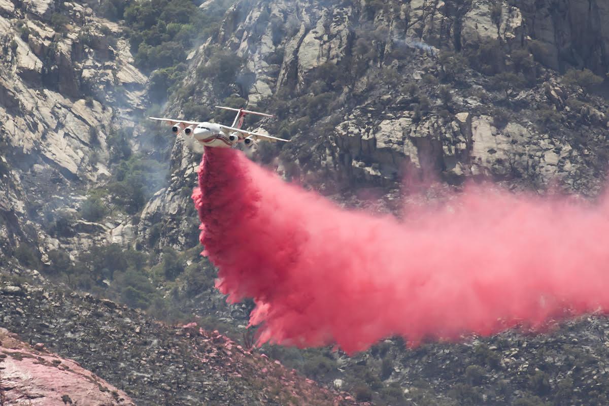 Bighorn Fire RJ85