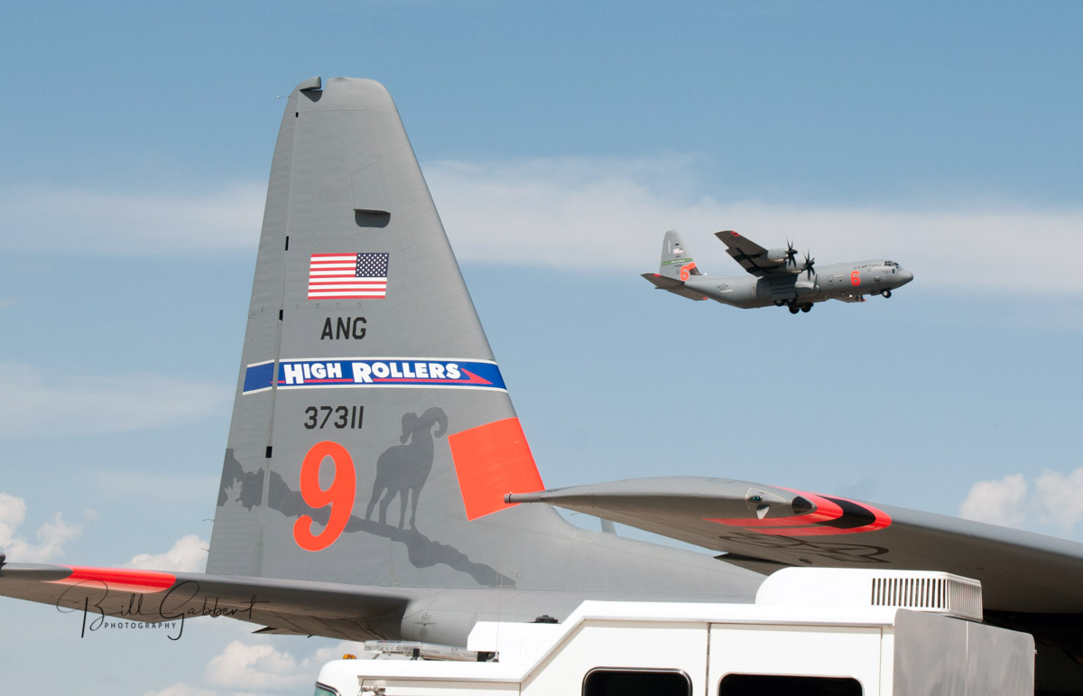 fire wildfire Nevada Air National Guard C-130 MAFFS
