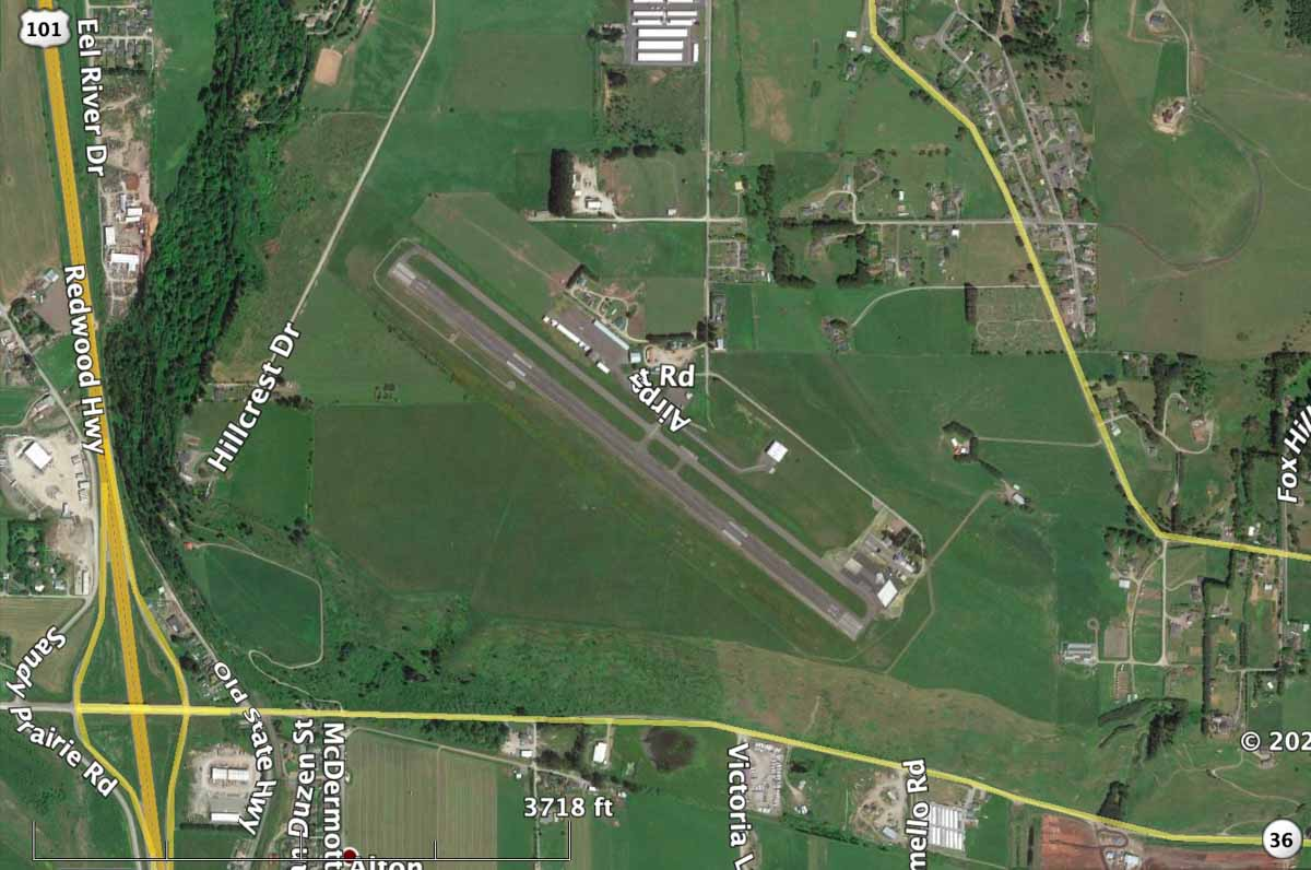 Rohynerville Airport