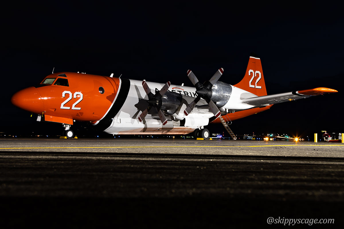 Tanker 22 P3 Orion Elephant Butte Fire Colorado