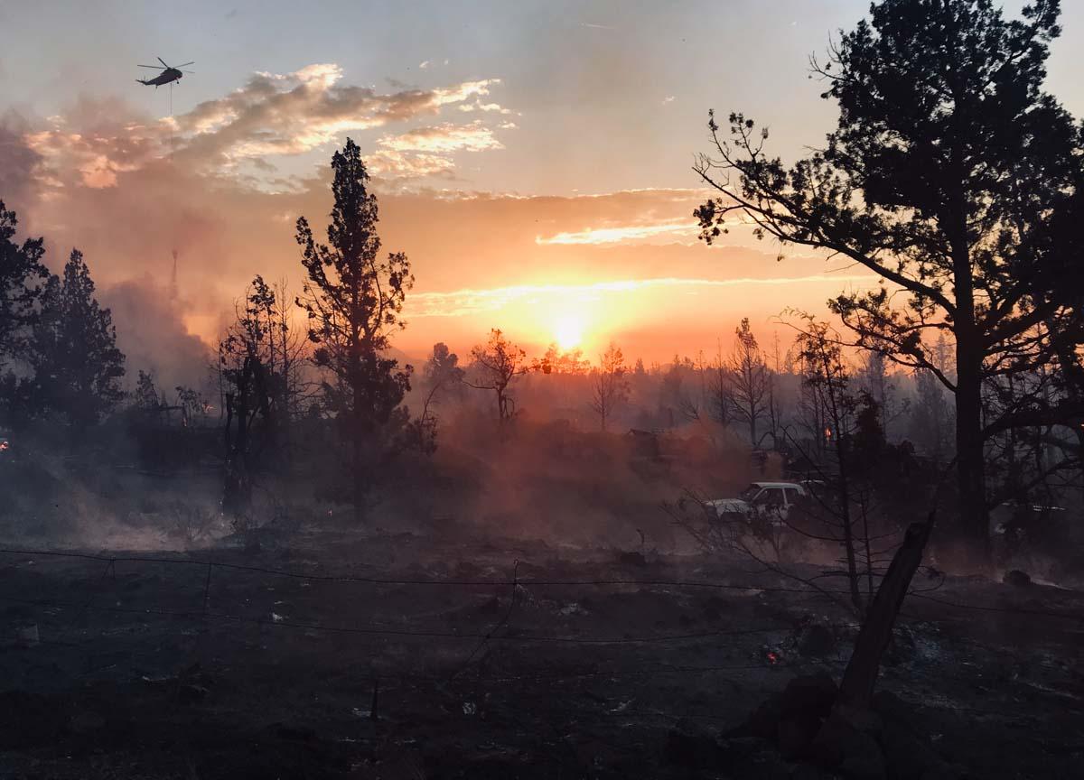 Juniper Fire Bend Oregon junkyard