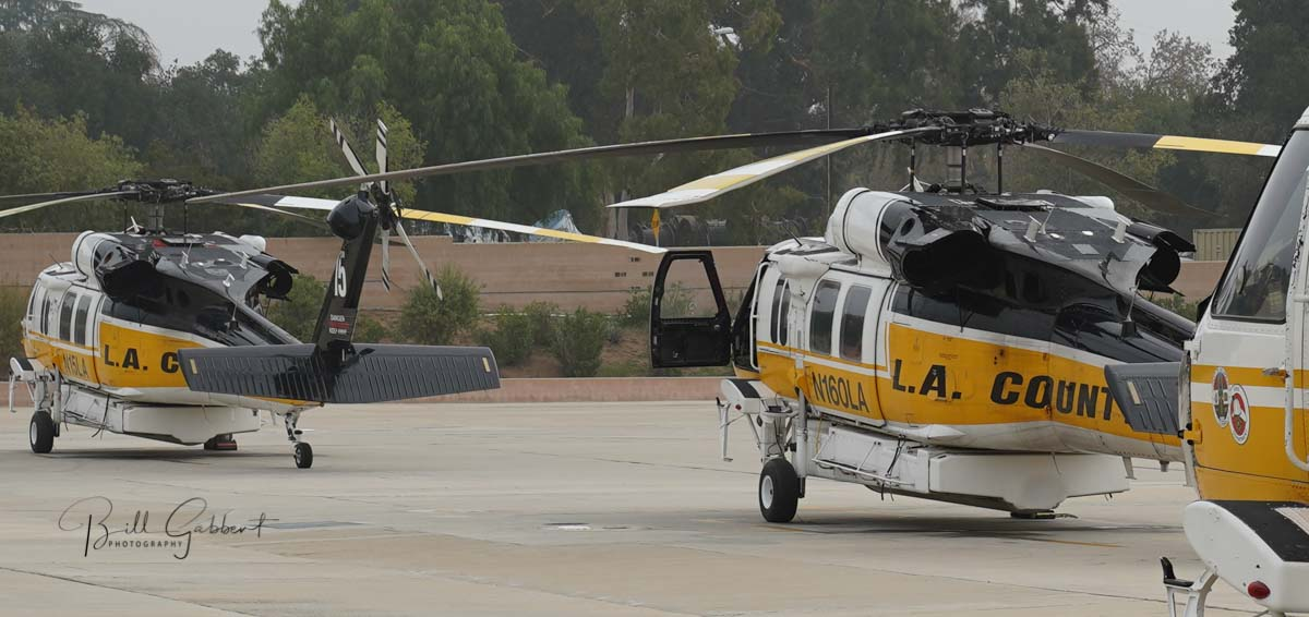 Los Angeles County Fire Department helicopter 16