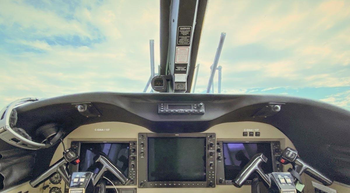 Conair flight deck air attack aircraft