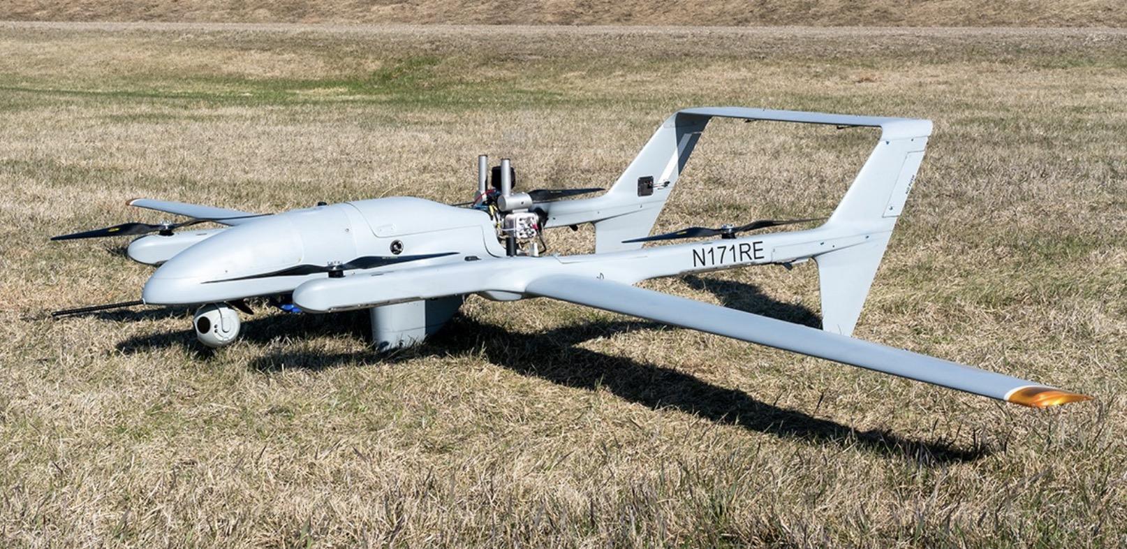 FVR-90 hybrid Unmanned Aerial System