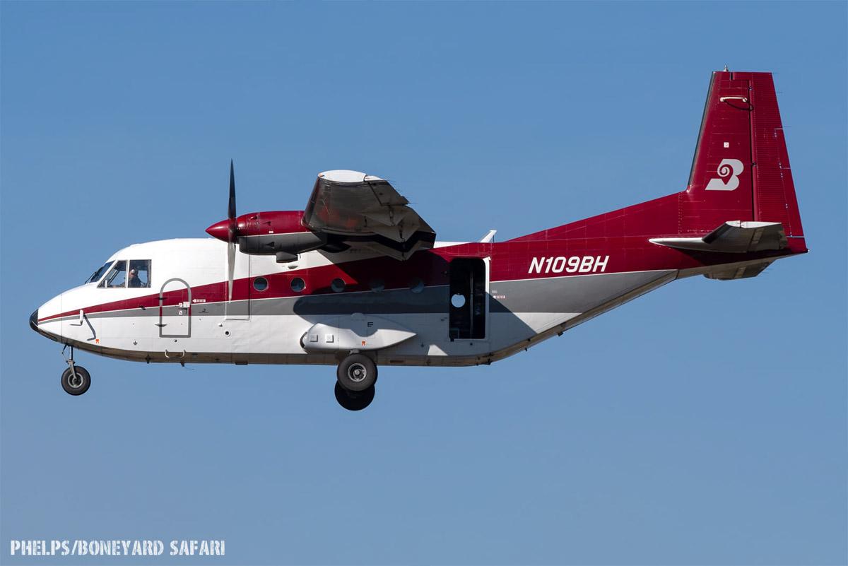Smokejumper aircraft, N109BH