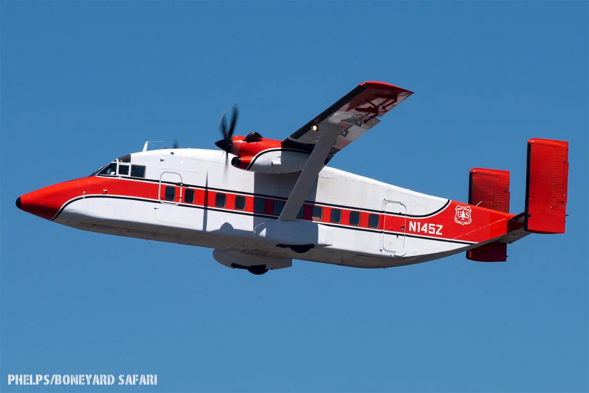 Smokejumper aircraft, N145Z