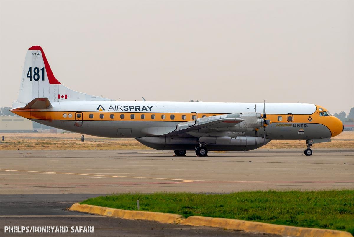 air tanker 481, C-FLXT,