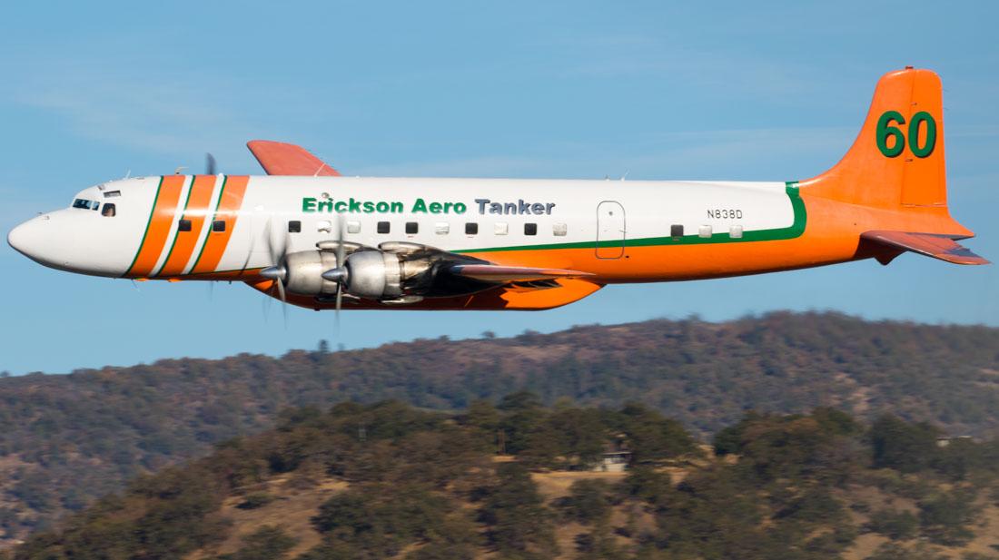 air tanker 60 DC-7B retires