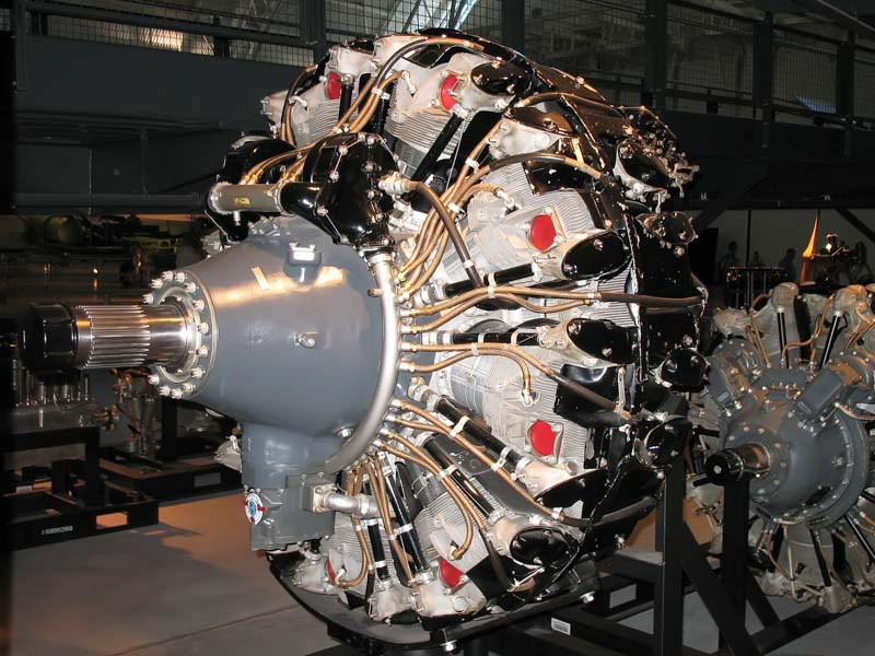 Wright Cyclone GR 3350 radial engine