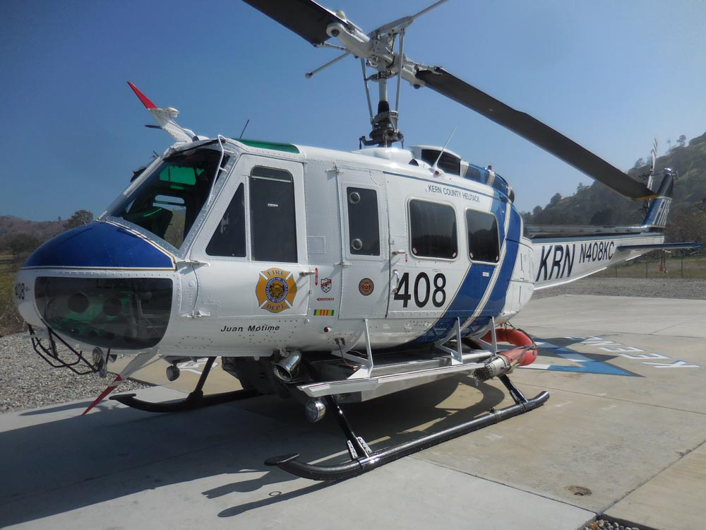 Bell UH-1H helicopter, Kern County Fire Department