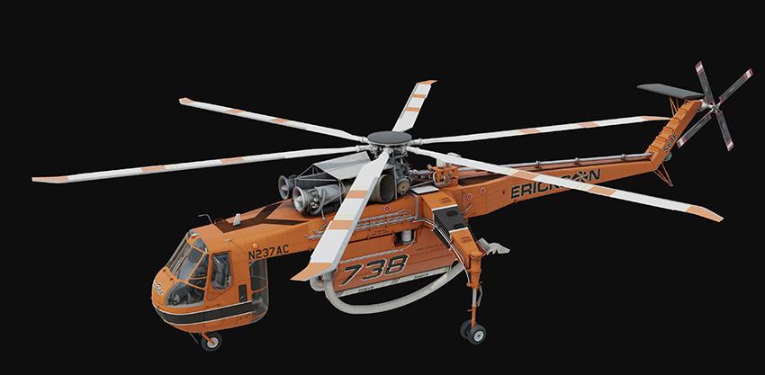 Erickson announces composite main rotor blades