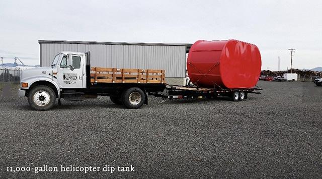 Grayback Forestry 11,000-gallon dip tank