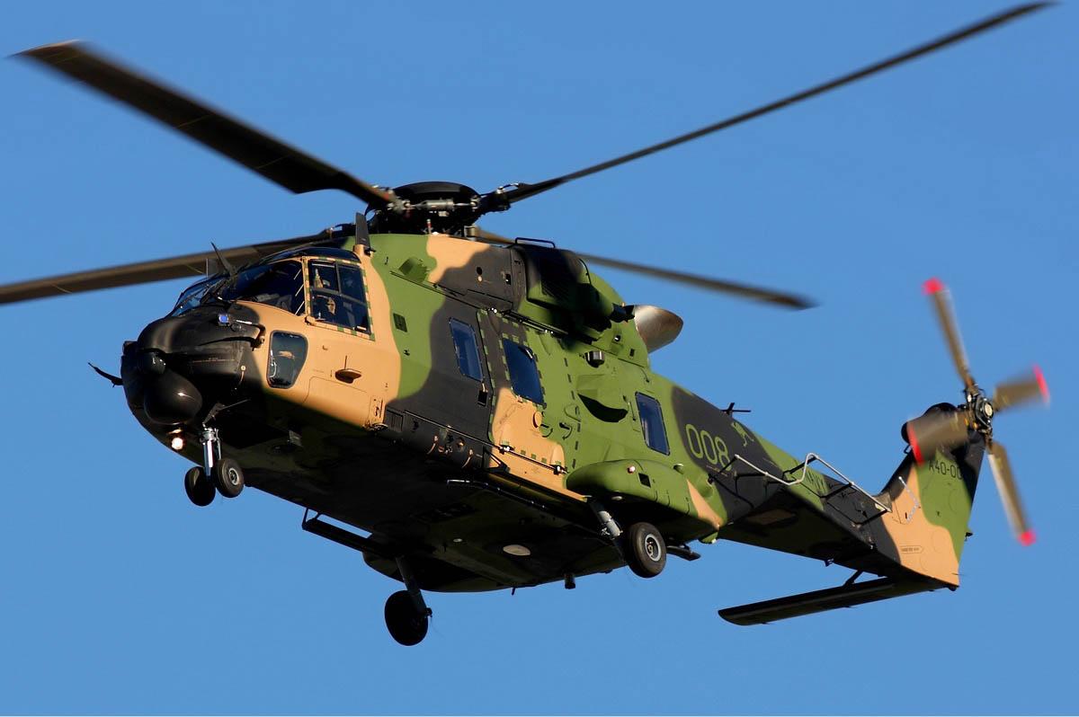 Royal Australian Navy NHI MRH-90 Helicopter