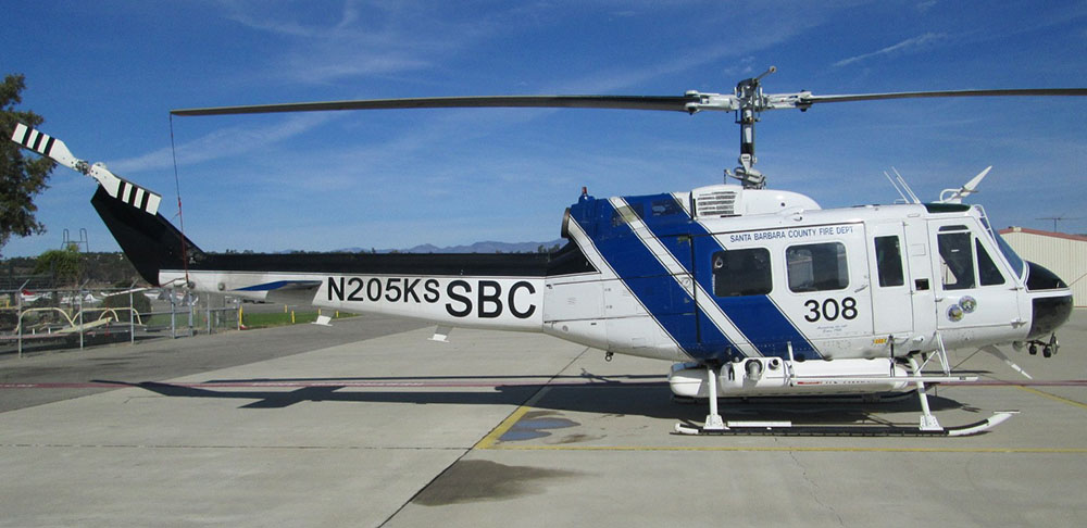 Santa Barbara County Helicopter 308