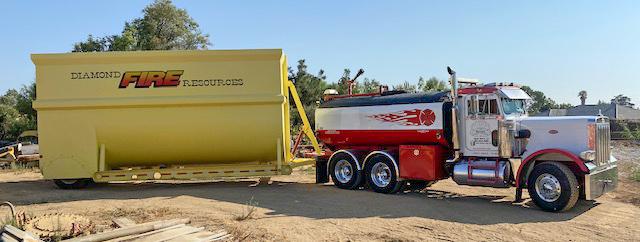 Heli Troff, 18,000 gallons