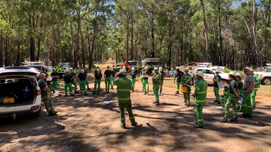 Firefighters in Victoria, Australia conduct prescribed fires