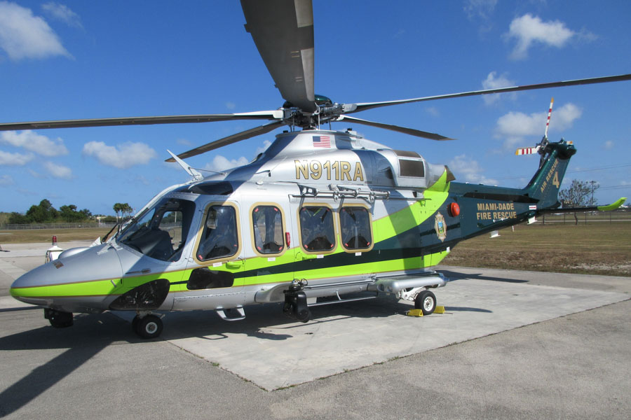 Miami-Dade Fire Rescue's Helicopter #4, N911RA