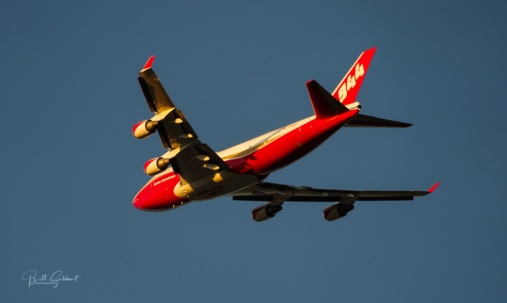 747 Supertanker takeoff from MCC