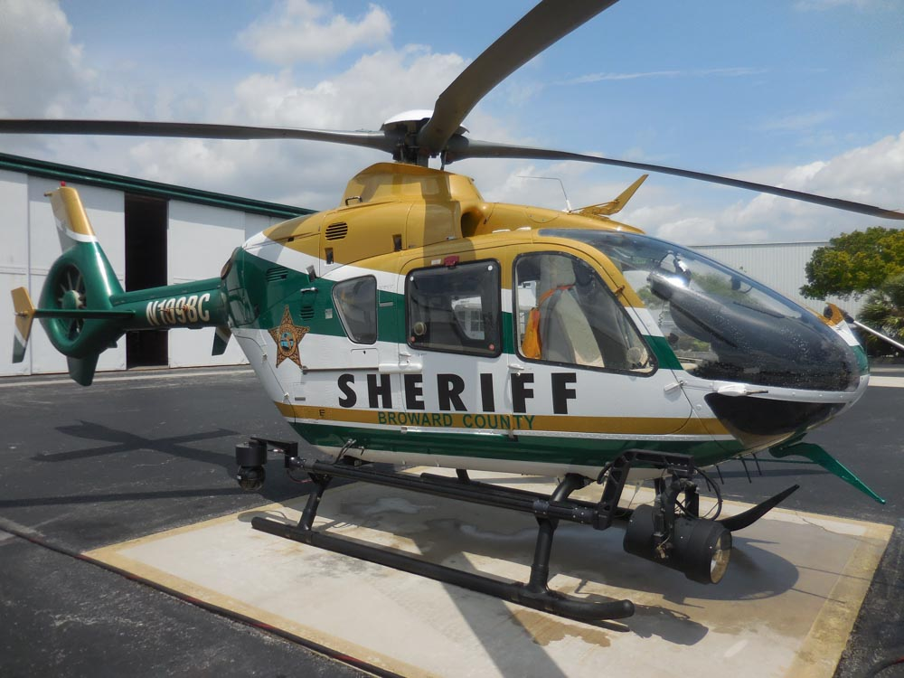 Broward County Sheriff's Office Fire Rescue Eurocopter EC135, N109BC