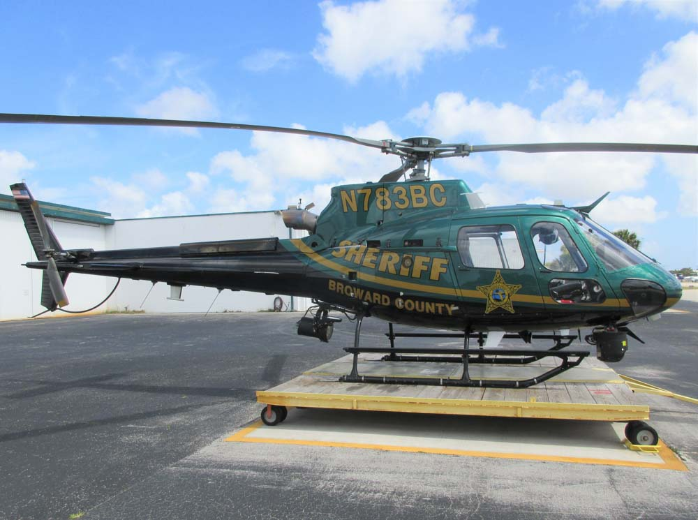 Broward County Sheriff helicopter, N783BC