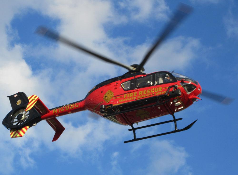 Broward County Sheriff Office's Eurocopter EC135, N109BC