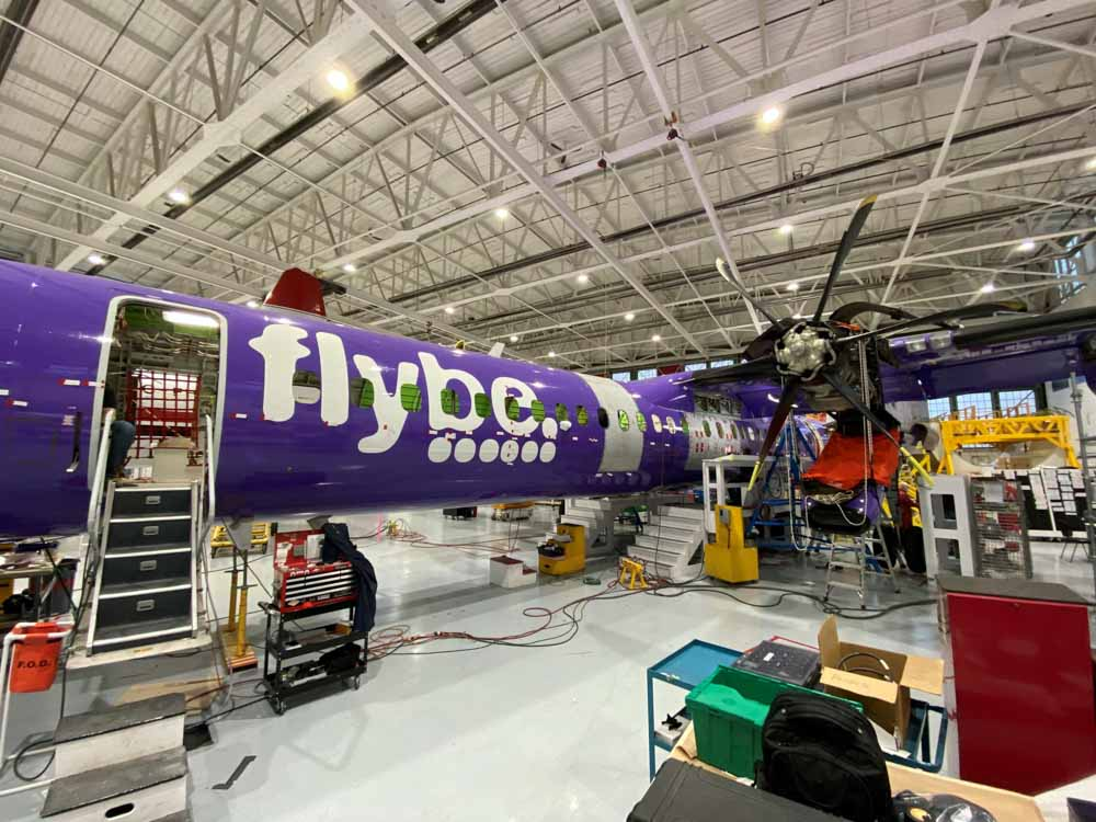 converting Q400 into air tanker firefighting