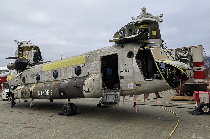 Coulson Chinook helicopter