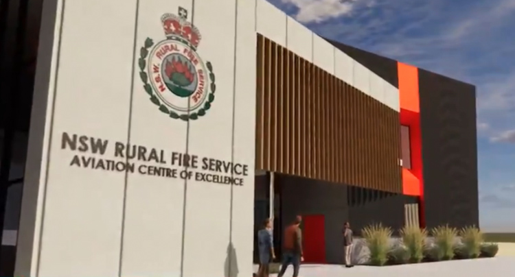 NSW RFS Training Academy Aviation Centre of Excellence