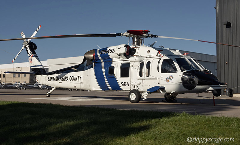 Santa Barbara County Helicopter 964