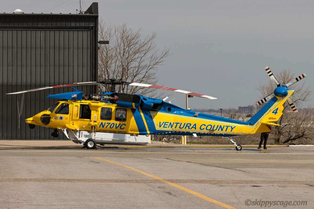 Ventura County, HH-60L, N70VC helicopter Firehawk
