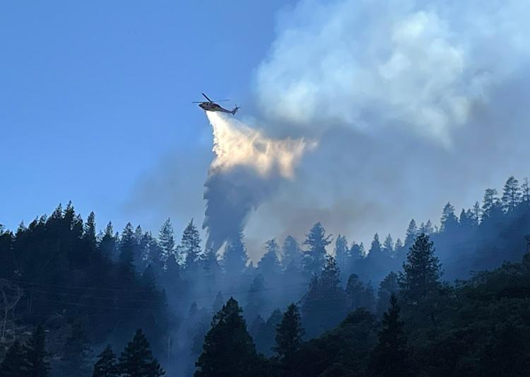 Aircraft Dixie Fire