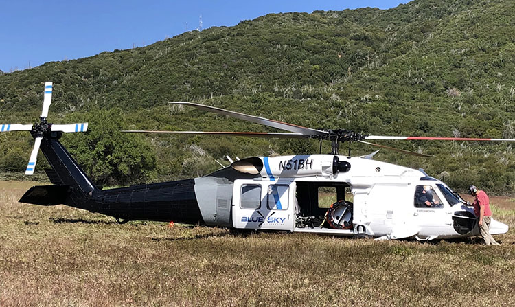 Blue Sky Helicopters HH-60L, N51BH