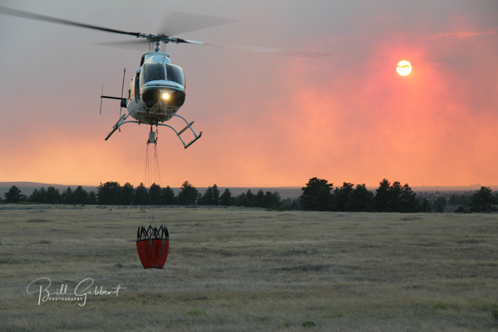 White Draw Fire, South Dakota, June 29, 2012